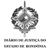 Diário de Justiça do Estado de Rondônia