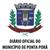 Diário Oficial do Município de Ponta Porã
