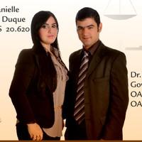 Dr. Danielle Duque e Dr. Paulo Roberto