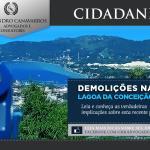 Demolições na Lagoa da Conceição - Florianópolis, Santa Catarina
