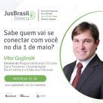 JusBrasil Conecta: você conectado a Vitor Guglinski