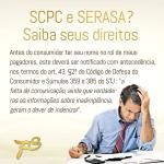 SCPC/Serasa? Nome inscrito indevidamente? Saiba seus direitos