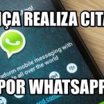 Justiça realiza citação pelo Whatsapp