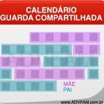 Calendário para Guarda Compartilhada