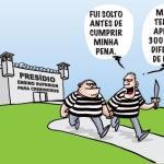 Brevíssimos comentários sobre a eficácia controversa das prisões