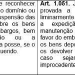 Novo CPC: embargos de terceiro (análise art. 678, 679, 680 e 681)