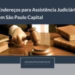 Assistência judiciária gratuita em São Paulo Capital
