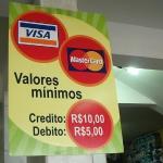 Estabelecimento comercial pode estipular valor mínimo para compra no Cartão de Crédito/Débito?