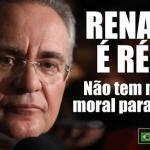 Afastamento de Renan Calheiros da Presidência do Senado: imediato!