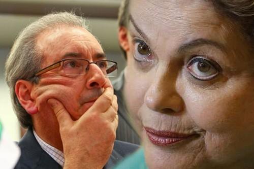 Cunha investigado Ok Mas e a Dilma