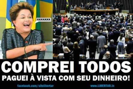 EXTRA Dinheiro pblico bancar a barrao do impeachment de Dilma no Congresso