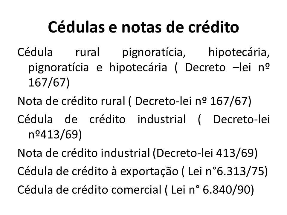 cedula de credito rural comercial e industrial