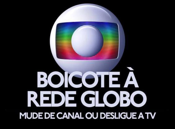 Vamos boicotar as empresas golpistas e a Rede Globo