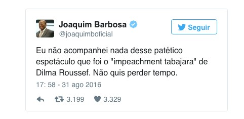 A trgica farsa do Impeachment