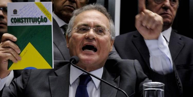 Renan ficou na presidncia Correta deciso - pero no mucho