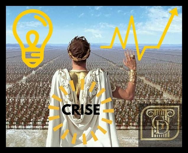 Ave Crise A imperadora das mudanas
