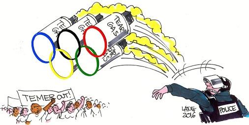 Jogos Olmpicos e a Ruptura Constitucional