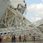 Guindaste da Arena Corinthians não tinha problemas mecânicos, diz laudo