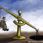 Os salários e a tesão; os honorários e a depressão...