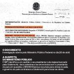Ministério Público investiga Lula por tráfico de influencia com empreiteira Odebrecht, segundo revista Época.