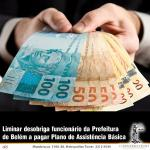 Liminar desobriga funcionário da prefeitura de Belém a pagar contribuição compulsória ao Plano de Assistência Básica do Servidor