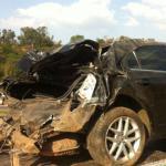 Presidente da OAB sai ileso de grave acidente automobilístico