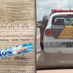 Motorista é multado por dirigir apenas com uma das mãos, comendo drops de menta no interior de São Paulo