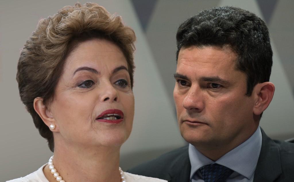 Dilma e Moro se manifestam sobre conduo coercitiva do ex-presidente Lula
