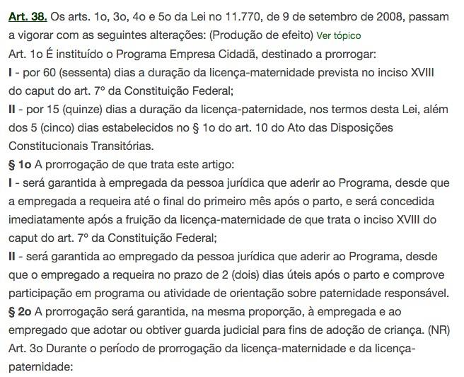 Dilma sanciona lei que amplia de 5 para 20 dias licena-paternidade