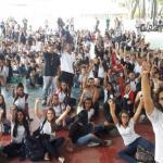 Escola Helena Guerra é flagrada doutrinando os seus alunos