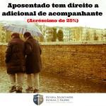 Adicional de 25% para todos os aposentados que necessitem de assistência permanente de outra pessoa