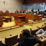 Execução da pena após segundo grau também vale para parlamentares