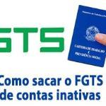 Medida Provisória n° 763/2016 autoriza o saque do saldo de FGTS de contas inativas