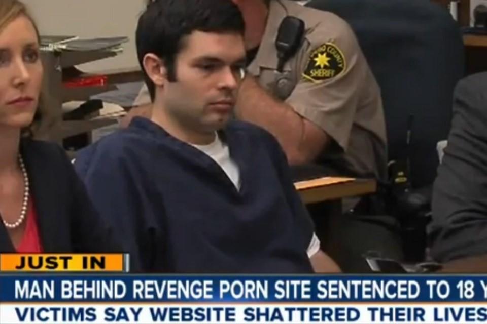 Dono de site de Revenge Porn condenado a 18 anos de priso