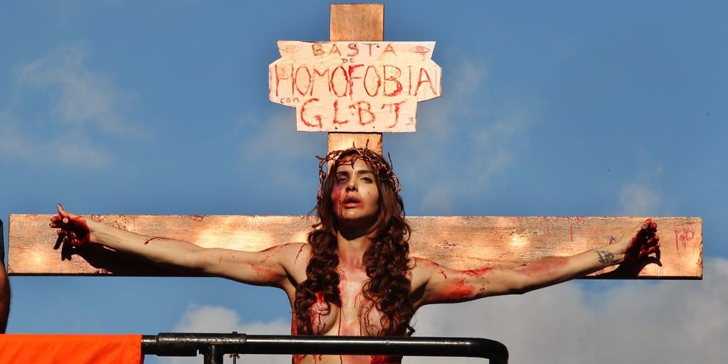 Cristofobia um sacrilgio hediondo