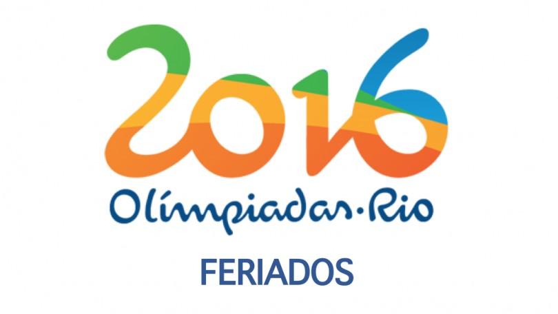 Olimpadas - Feriados apenas no Municpio do Rio de Janeiro